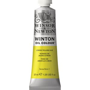 Winsor & Newton Winton Oil Colour 37mL Lemon Yellow Hue