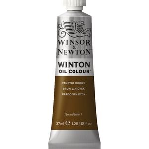 Winsor & Newton Winton Oil Colour 37mL Vandyke Brown