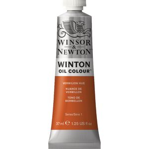 Winsor & Newton Winton Oil Colour 37mL Vermilion Hue
