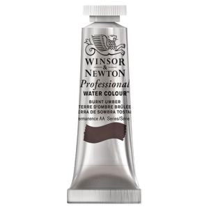 Winsor & Newton Prof. Watercolour 5mL Burnt Umber S1
