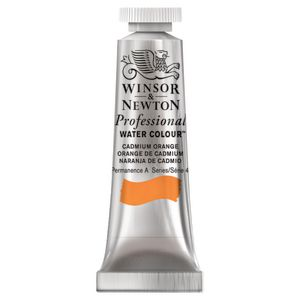Winsor & Newton Prof. Watercolour 5mL Cadmium Orange S4