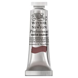 Winsor & Newton Prof Watercolour 5mL Caput Mortum Purple S2