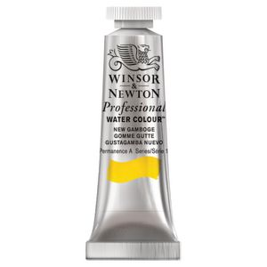 Winsor & Newton Prof. Watercolour 5mL New Gamboge S1