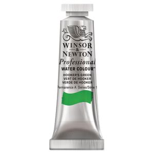 Winsor & Newton Prof. Watercolour 5mL Hookers Green S1