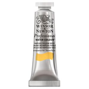 Winsor & Newton Prof. Watercolour 5mL Naples Yellow Deep S1