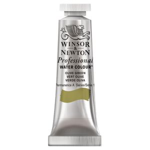 Winsor & Newton Prof. Watercolour 5mL Olive Green S1