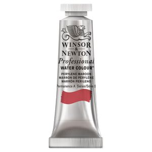 Winsor & Newton Prof. Watercolour 5mL Perylene Maroon S3