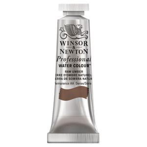 Winsor & Newton Prof. Watercolour 5mL Raw Umber S1