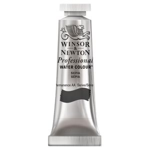 Winsor & Newton Prof. Watercolour 5mL Sepia S1