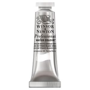 Winsor & Newton Prof. Watercolour 5mL Titanium White S1
