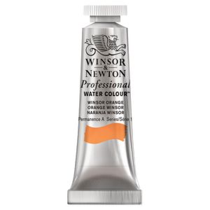 Winsor & Newton Prof. Watercolour 5mL Winsor Orange S1