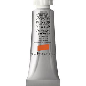 Winsor & Newton Designers Gouache 14mL Flame Red S0