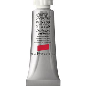 Winsor & Newton Designers Gouache 14mL Spectrum Red S1