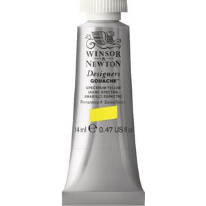 Winsor & Newton Designers Gouache 14mL Spectrum Yellow S1