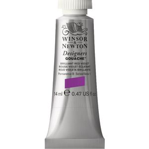 Winsor & Newton Designers Gouache 14mL Brill Red Violet S1