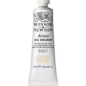 Winsor & Newton Artist Oil Colour 37mL Naples Yellow Light S1