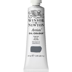 Winsor & Newton Artist Oil Colour 37mL Pewter S2