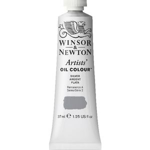 Winsor & Newton Artist Oil Colour 37mL Silver S2