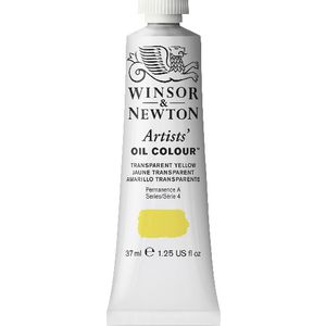 Winsor & Newton Artist Oil Colour 37mL Transparent Yellow S5