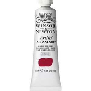 Winsor & Newton Artist Oil Colour 37mL Winsor Red Deep S3