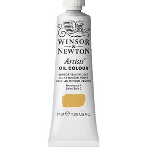 Winsor & Newton Artist Oil Colour 37mL Winsor Yellow Deep S3