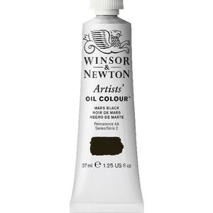 Winsor & Newton Artist Oil Colour 37mL Mars Black S2