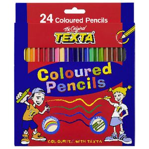 Texta Coloured Pencils 24 Pack
