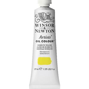 Winsor & Newton Artist Oil Colour 37mL Bismuth Yellow S5