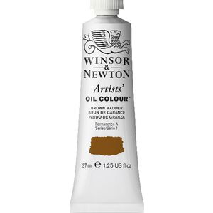 Winsor & Newton Artist Oil Colour 37mL Brown Madder S1