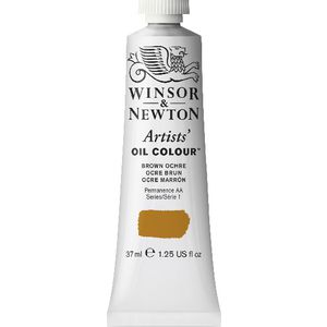 Winsor & Newton Artist Oil Colour 37mL Brown Ochre S1