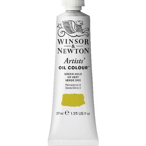 Winsor & Newton Artist Oil Colour 37mL Green Gold S2