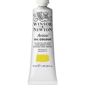 Winsor & Newton Artist Oil Colour 37mL Indian Yellow Deep S3
