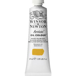 Winsor & Newton Artist Oil Colour 37mL Naples Yellow Deep S2