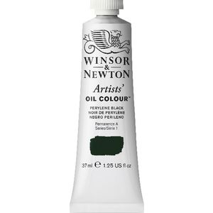 Winsor & Newton Artist Oil Colour 37mL Perylene Black S1
