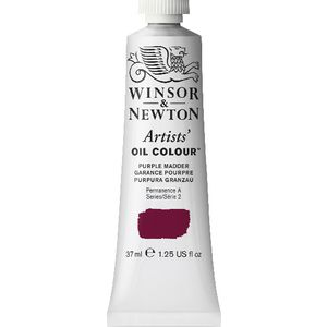Winsor & Newton Artist Oil Colour 37mL Purple Madder S3