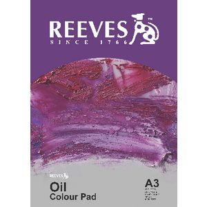 Reeves A3 Oil Colour Pad 12 Sheets