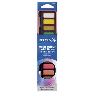 Reeves Watercolour Tin Set