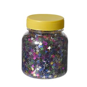 Jasart Glitter Scatters Assorted Stars 100g