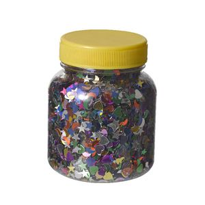Jasart Glitter Scatters Assorted Shapes 100g