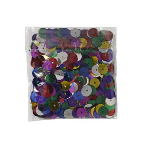 Jasart Round Sequins 10mm Assorted 25g