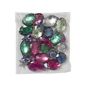 Jasart Rhinestones Assorted Shapes and Colours 25g