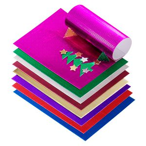 Jasart A4 Corrugated Foil Board Assorted Colours 20 Pack