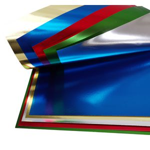 Jasart 508 x 630mm Foil Board Assorted 20 Pack