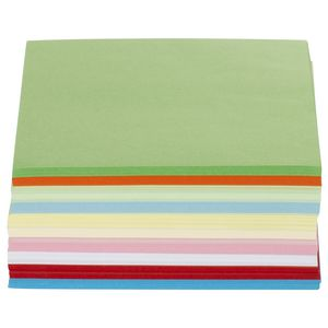 Jasart 127mm Paper Squares Matte double-sided 360 Pack