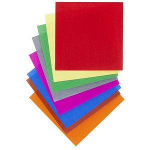 Jasart Paper Squares 254mm Gloss Assorted 360 Pack