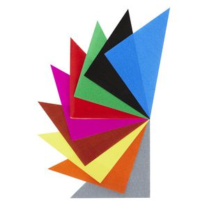 Jasart 125mm Paper Triangles Gloss 720 Pack