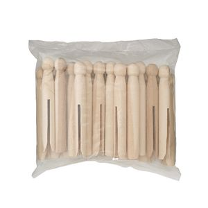 Jasart Wooden Dolly Pegs 24 Pack