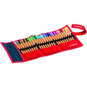 Stabilo Point 88 Fineliners Rollerset 0.4mm Assorted 25 Pack