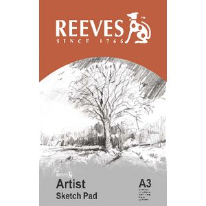 Reeves A3 Artist Sketch Pad 30 Sheet