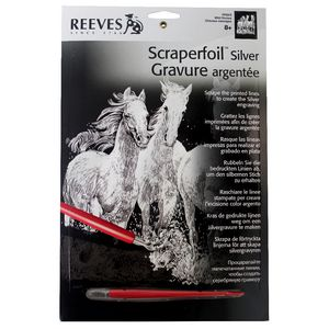 Reeves Scraperfoil Silver Wild Horse